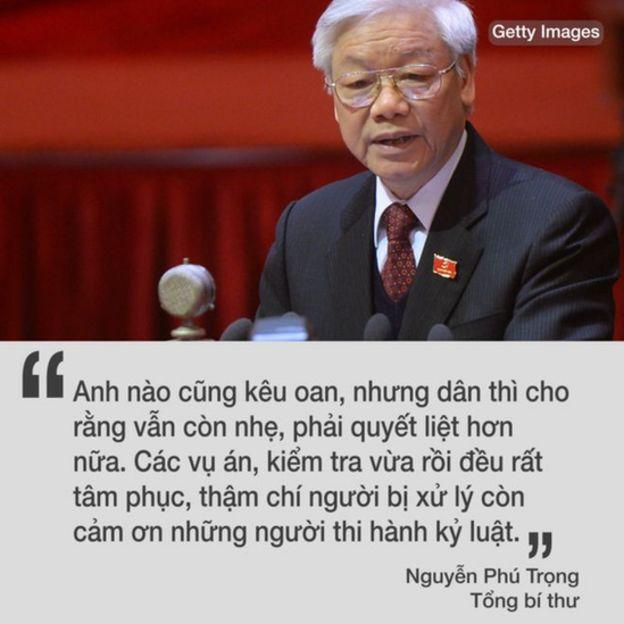 Việt Nam, Nguyễn Phú Trọng, tham nhũng