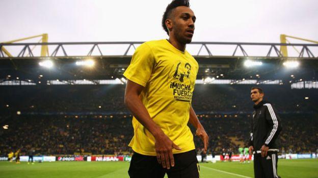 Aubameyang a été exclu par Dortmund pour son match contre le Hertha Berlin.