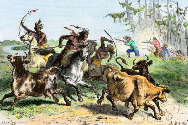 تسببت الأسوار، التي بناها المستوطنون من الأسلاك الشائكة، في نزاعات مع الأمريكيين الأصليين.