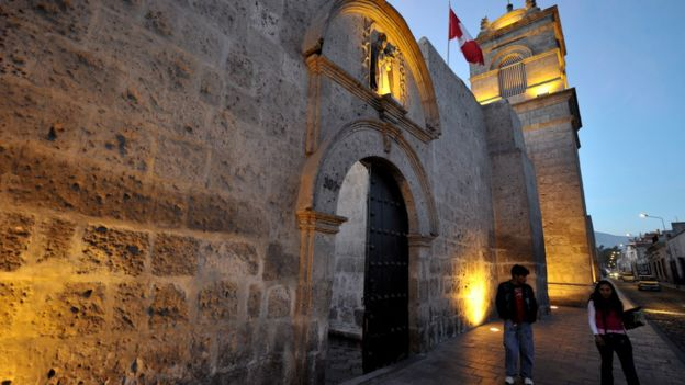 El convento de Santa Catalina