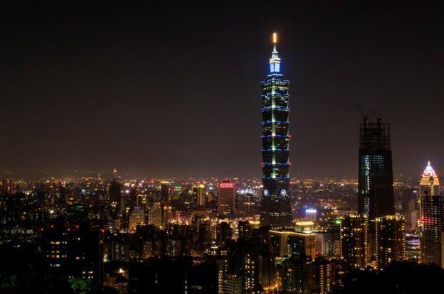 Una imagen de Taipei
