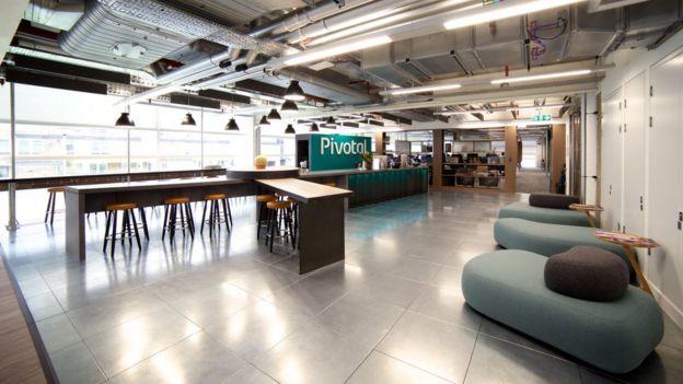 Escritório da Pivotal em Londres