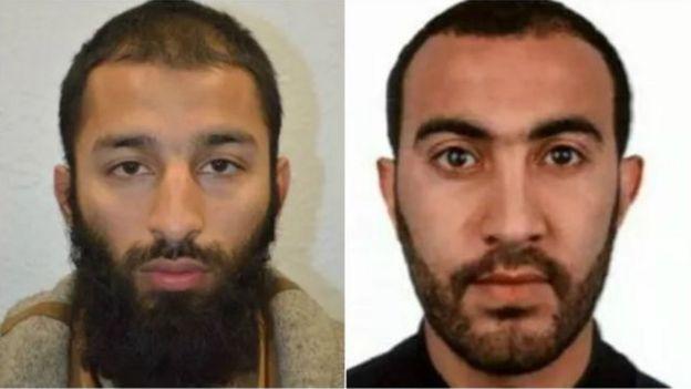 Londra 3 haziran Borough Market saldırganları