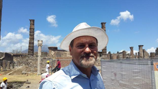 Pompei Arkeolojik Alan Sorumlusu Profesör Massimo Osanna