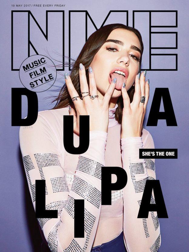 Dua Lipa's NME cover