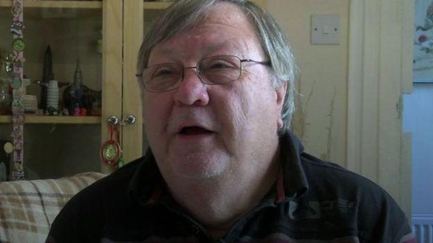 Terry Lucking, avô de Rose
