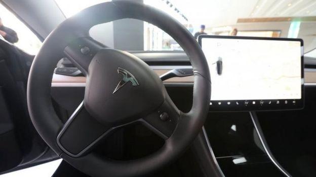 Model 3 dashboard