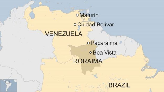 Crisishit Venezuelans leave for Brazil in search of new life BBC News