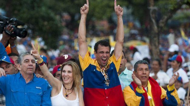Campaña de Capriles en 2013.