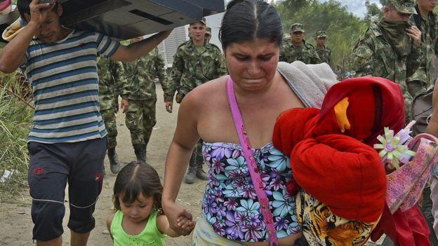 pessoas na Venezuela