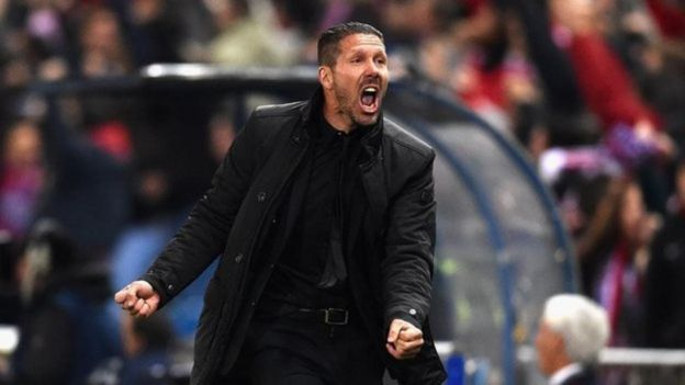 Mkufunzi wa Real Madrid Diego Simeone