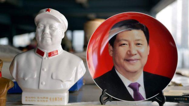 习近平与毛泽东
