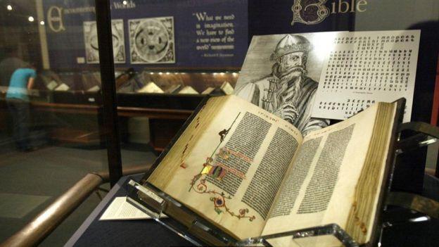 الكتاب المقدس الذي طبعه غوتنبرغ