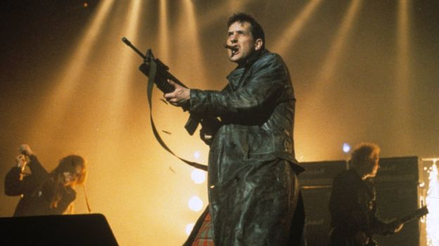 The KLF at the Brit Awards 1992