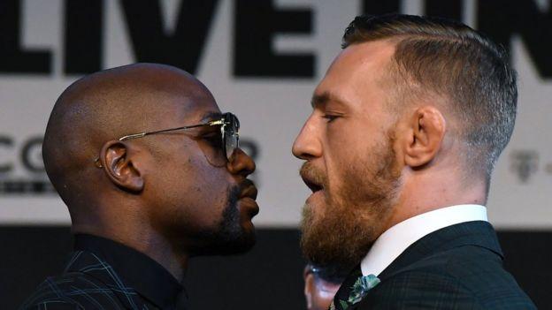Mayweather y McGregor frente a frente