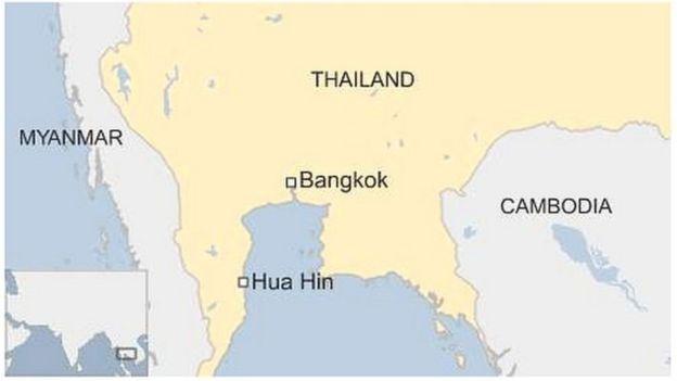 Baadhi ya nchi jirani na Thailand
