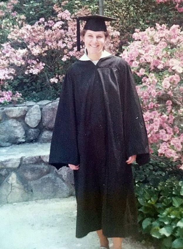 Maryann Gray en su graducación en 1975 (Foto: cortesía de Maryann Gray).