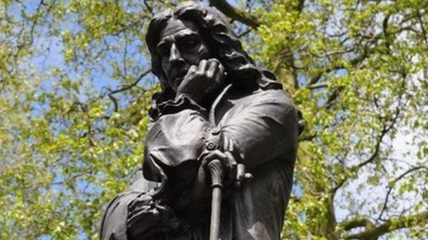 Edward Colston statue in Bristol