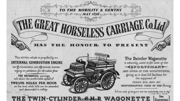 早期的汽車