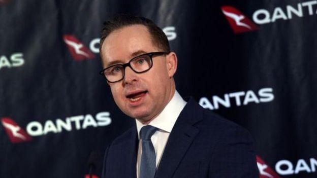 Alan Joyce wa shirika la ndege la Australian Qantas