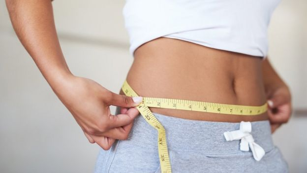 Mujer a dieta