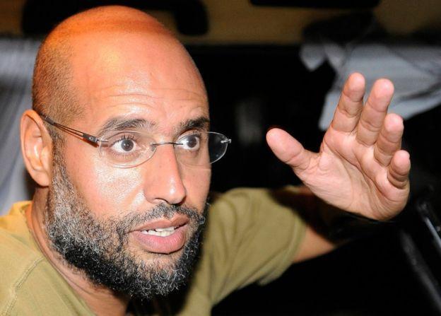 Ông Saif al-Islam Gaddafi