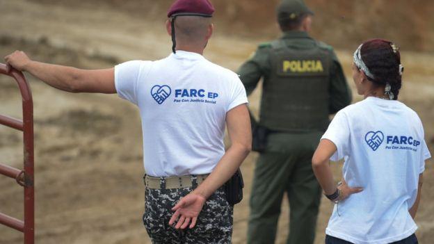 Desmovilización de las FARC