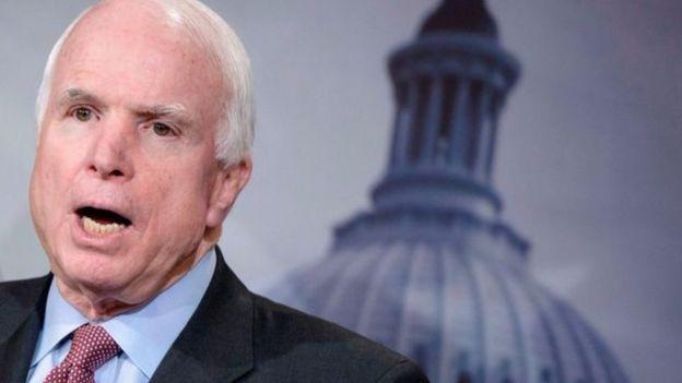 Năm 2008, ông McCain được đề cử đại diện cho Đảng Cộng hòa tranh cử tổng thống Hoa Kỳ .