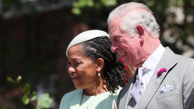 Prince Charles and Doria Ragland