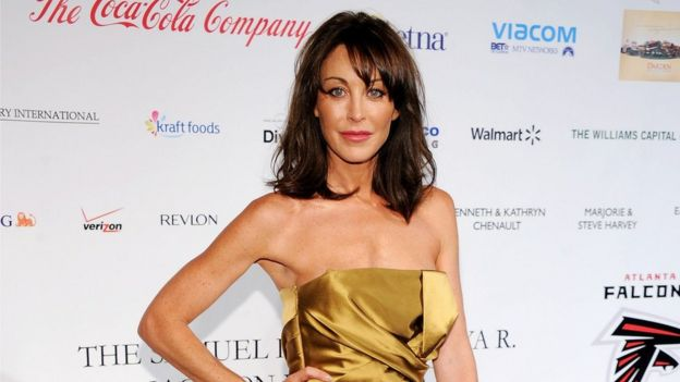 Jimmy Choo founder Tamara Mellon attends the BLUE Scholarship Gala to benefit Spelman College at The Plaza Hotel