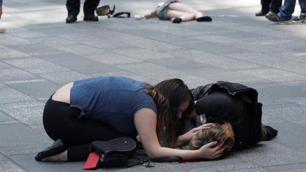 Heridos en Times Square