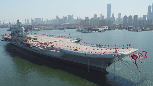 中国第一艘国产航母