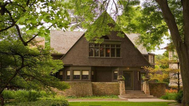 La casa de Frank Lloyd Wright