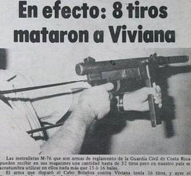 Noticia sobre el asesinato de Viviana Gallardo en el diario Extra.