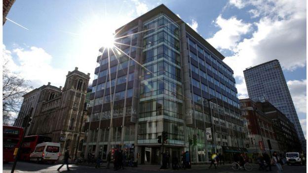 Tòa nhà nơi công ty Cambridge Analytica có trụ sở tại London