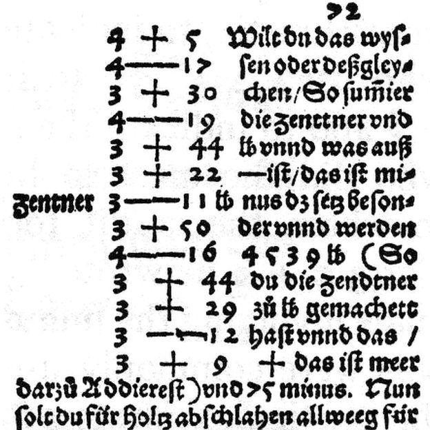 'Aritmética Mercantil', livro de 1489