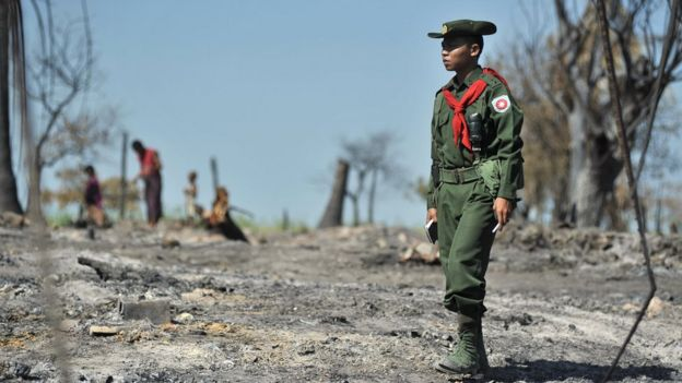 نظامی برمه