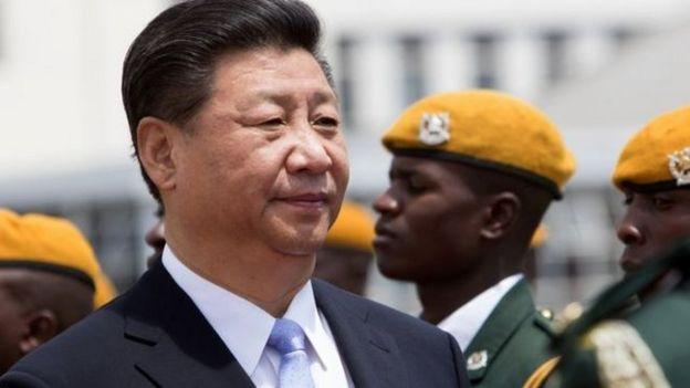 中國大陸近十年來在非洲幫助不少國家加強硬體建設,領導級人物更是頻頻出訪。(資料圖片)