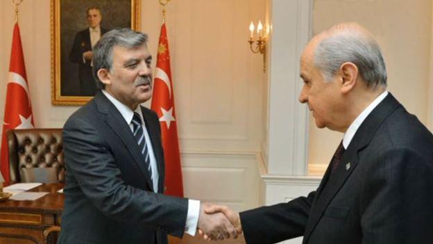 Abdullah Gül ve Devlet Bahçeli