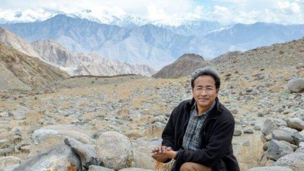 Sonam Wangchuk em Ladakh