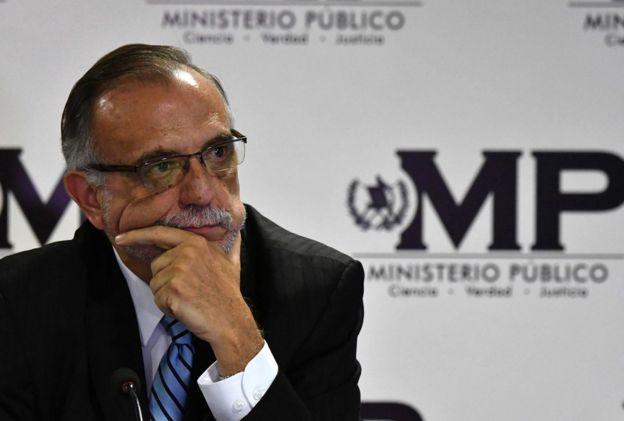 El titular de la Comisión Internacional contra la Impunidad en Guatemala (Cicig), Iván Velásquez.