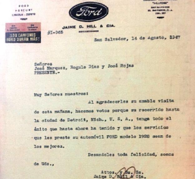 Carta Ford.