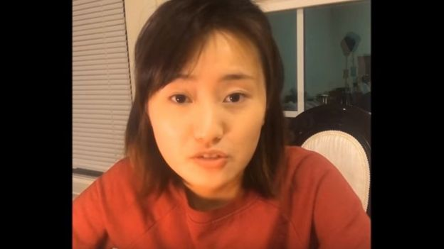 Xinliang Jiang, who is also at the university of Maryland, made a video about Ms Yang's speech