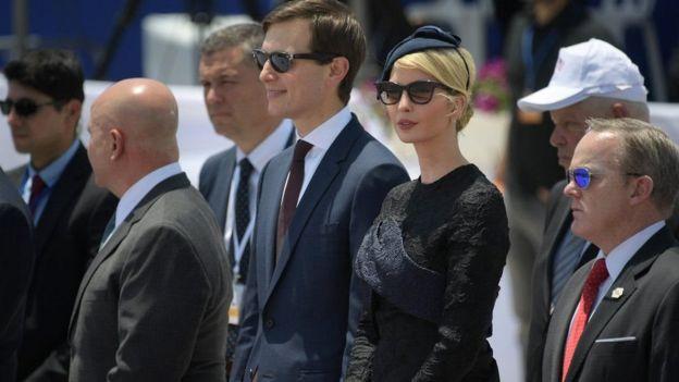 Trump, Kushner, Ivanka