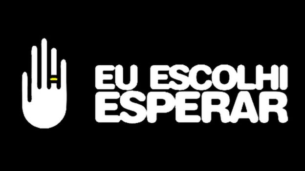 Símbolo do Eu Escolhi Esperar