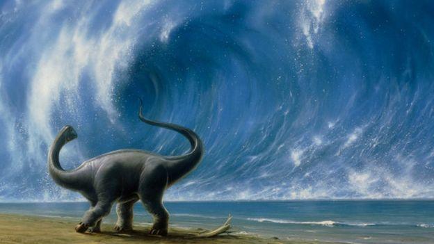 Các vụ thiên thạch lao vào Trái Đất trước đây được cho là nguyên nhân khiến khủng long bị tuyệt diệt