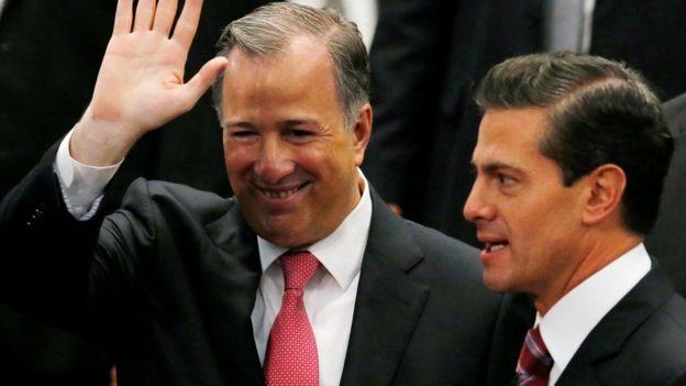 José Antonio Meade y Enrique Peña Nieto.