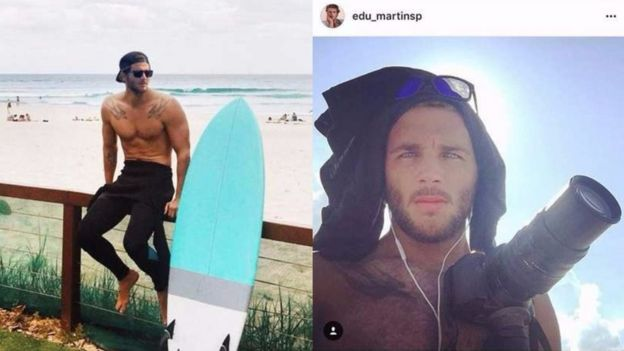 Pictures of Max Hepworth-Povey on Eduardo Martins' Instagram page