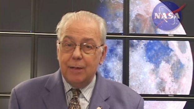 El científico de la NASA, David Morrison