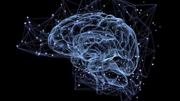 Ilustração de células cerebrais